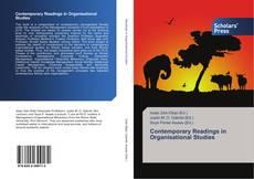 Couverture de Contemporary Readings in Organisational Studies