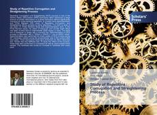 Buchcover von Study of Repetitive Corrugation and Straightening Process