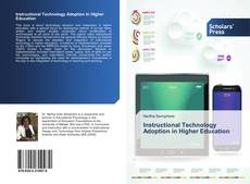 Instructional Technology Adoption in Higher Education的封面