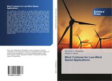 Bookcover of Wind Turbines for Low-Wind Speed Applications