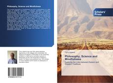 Bookcover of Philosophy, Science and Mindfulness
