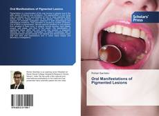 Bookcover of Oral Manifestations of Pigmented Lesions