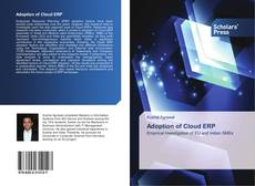 Bookcover of Adoption of Cloud ERP