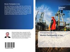 Bookcover of Women Participation in Iran