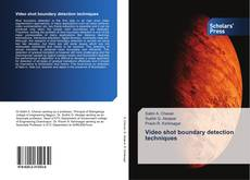 Bookcover of Video shot boundary detection techniques