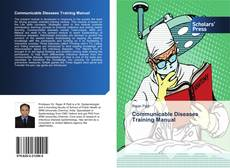 Portada del libro de Communicable Diseases Training Manual
