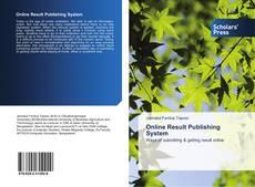 Online Result Publishing System的封面