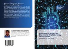 Bookcover of Principles of Blockchain, Bitcoin and Cryptocurrency Technologies