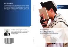 Capa do livro de How Ritual Works