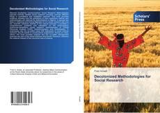 Couverture de Decolonized Methodologies for Social Research
