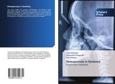 Bookcover of Osteoporosis in Dentistry