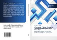 Bookcover of Influence of Project Managers' Competencies on Delivering Innovation