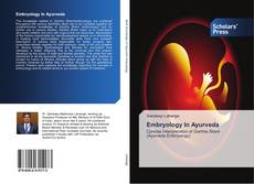 Embryology In Ayurveda kitap kapağı