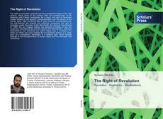 Bookcover of The Right of Revolution