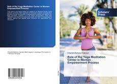 Copertina di Role of Raj Yoga Meditation Center in Women Empowerment Process