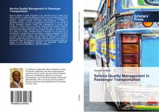 Bookcover of Service Quality Management in Passenger Transportation