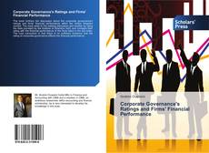 Bookcover of Corporate Governance's Ratings and Firms' Financial Performance