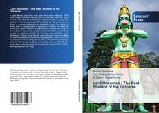 Bookcover of Lord Hanuman : The Best Student of the Universe