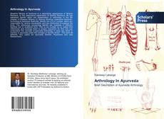 Arthrology In Ayurveda kitap kapağı
