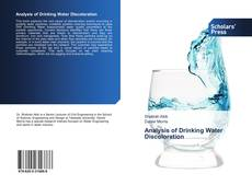 Bookcover of Analysis of Drinking Water Discoloration