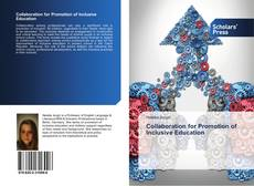 Portada del libro de Collaboration for Promotion of Inclusive Education