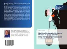 Portada del libro de Banking Strategy to Overcome Decline in Credit Growth