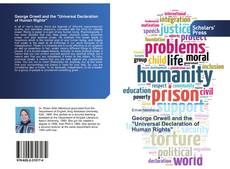 "Bookcover of George Orwell and the ""Universal Declaration of Human Rights"""