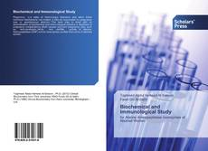 Bookcover of Biochemical and Immunological Study for Alanine Amino Peptidase Isoen