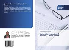 Capa do livro de Automatic Correction of Multiple - Choice Exams