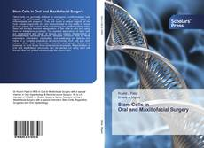 Stem Cells in Oral and Maxillofacial Surgery的封面