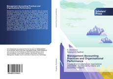 Management Accounting Practices and Organisational Performance kitap kapağı