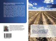 Bookcover of Effect of Conventional & Conservation Tillage on compaction in Namibia