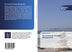 Buchcover von No-nonsense Strategic Management