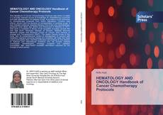 Couverture de HEMATOLOGY AND ONCOLOGY Handbook of Cancer Chemotherapy Protocols