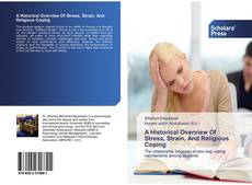 Buchcover von A Historical Overview Of Stress, Strain, And Religious Coping