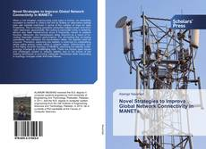 Copertina di Novel Strategies to Improve Global Network Connectivity in MANETs
