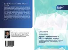 Bookcover of Specific Performances of SMEs of Apparel Industry