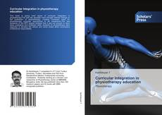 Capa do livro de Curricular Integration in physiotherapy education