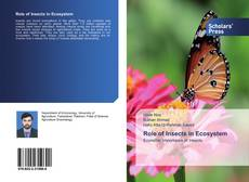 Bookcover of Role of Insects in Ecosystem
