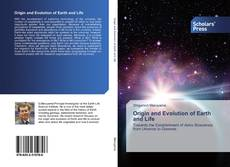 Origin and Evolution of Earth and Life的封面