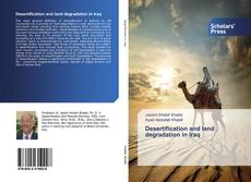 Buchcover von Desertification and land degradation in Iraq