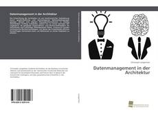 Datenmanagement in der Architektur kitap kapağı