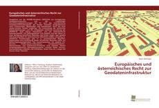 Portada del libro de Europäisches und österreichisches Recht zur Geodateninfrastruktur