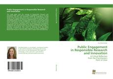 Portada del libro de Public Engagement in Responsible Research and Innovation