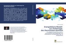 Обложка Energiebilanz-Modell zur Vorhersage des thermischen Komfort