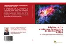 Couverture de Erhebung sozio-emotionaler Kompetenzen bei beeinträchtigten Kindern