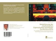 Copertina di Modellierung der mechanischen Eigenschaften hochfester Sonderbaustähle