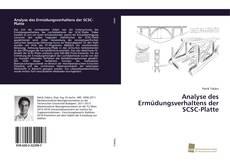 Обложка Analyse des Ermüdungsverhaltens der SCSC-Platte