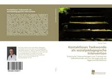 Bookcover of Kontaktloses Taekwondo als sozialpädagogische Intervention
