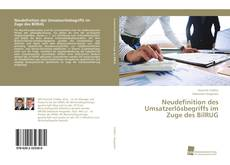 Обложка Neudefinition des Umsatzerlösbegriffs im Zuge des BilRUG